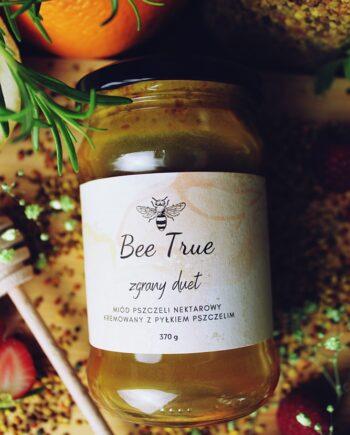 Miód z pyłkiem pszczelim 370g